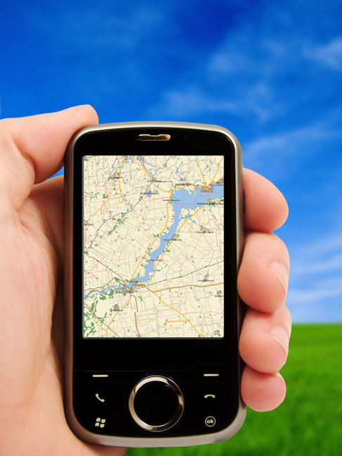 pda smartphone with gps feature
